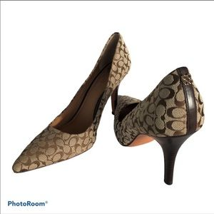 Coach heels Signature C Heels Canvas